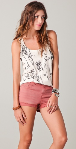 Madewell Graphic Washed Tank