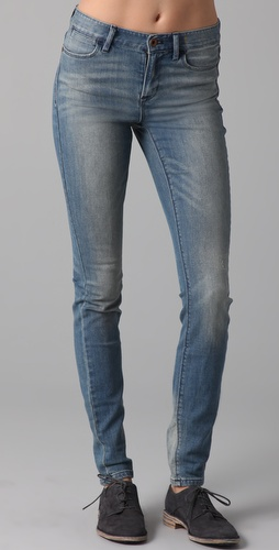 Madewell High Riser Skinny Jeans