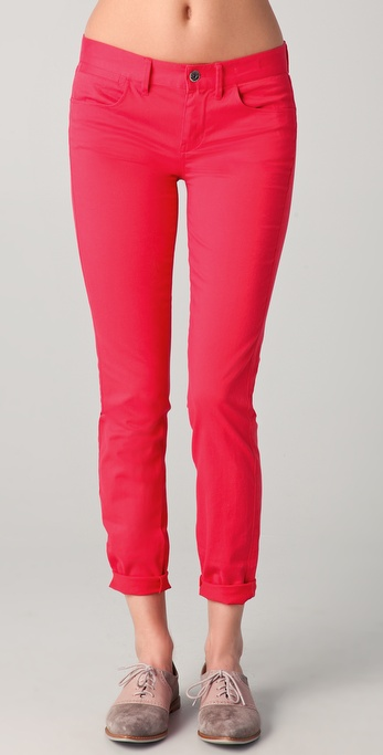 Madewell Colored Skinny Ankle Pants