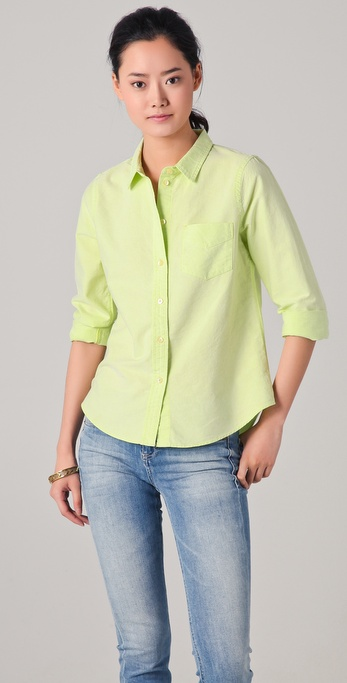 Madewell Shrunken Oxford Shirt