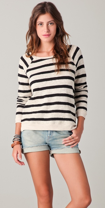 Madewell Frank Striped Swit Top