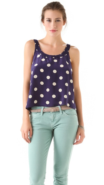 Madewell Lucy Smocked Tank