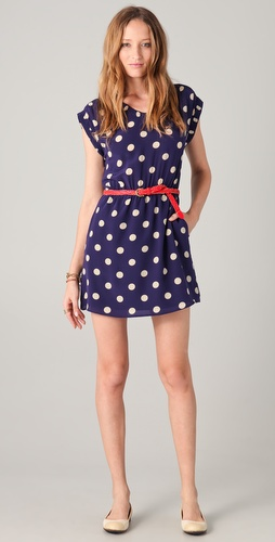 Madewell Armona Polka Dot Dress