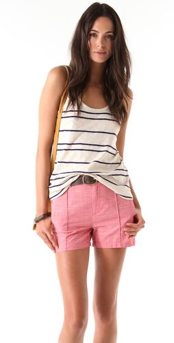 Madewell Drake Stripe Slubby Tank