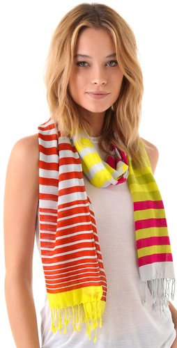 Madewell Minnow Stripe Long Scarf
