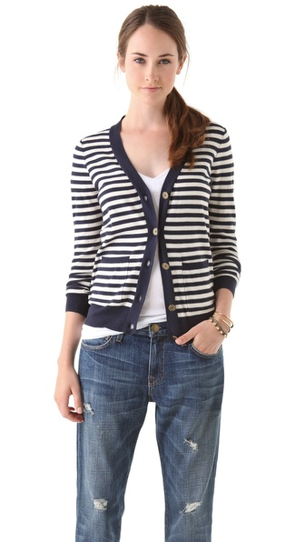 Madewell Joyce Striped Cardigan