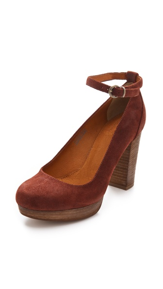 Madewell Ankle Strap Pumps