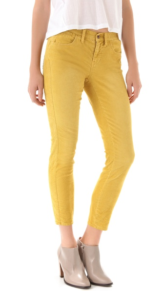 Madewell Skinny Skinny Ankle Corduroy Pants