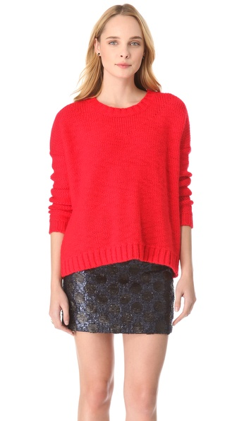 Madewell Lucia Boxy Slub Pullover