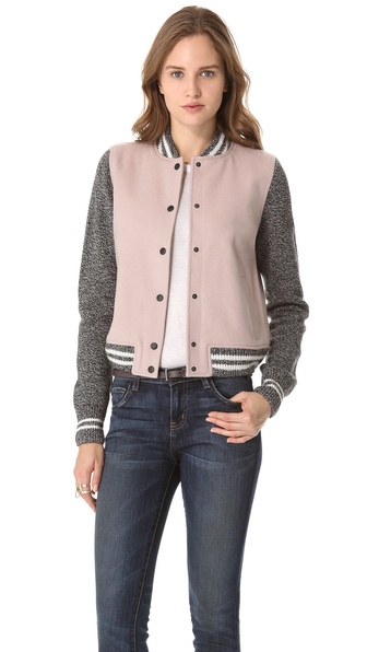 Madewell Varsity Jacket