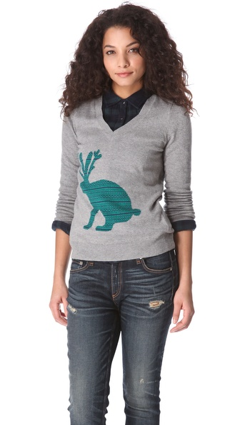 Madewell Big Jackalope Pullover
