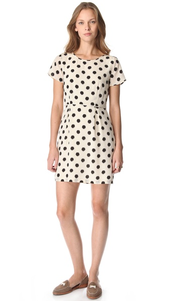 Madewell Maude Polka Dot Dress