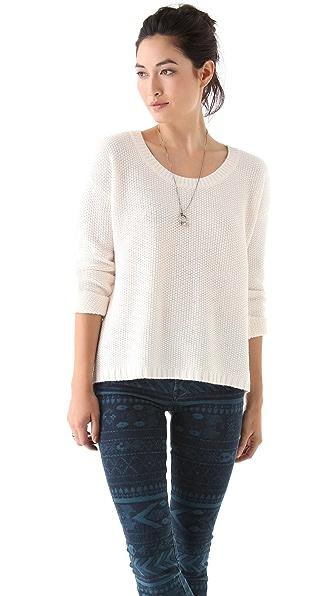 Madewell Chloe Textured Sweater