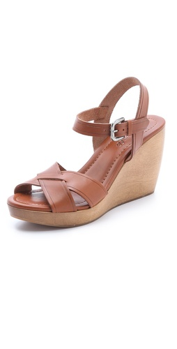 Madewell The Wylie Wedge Sandals at Shopbop.com
