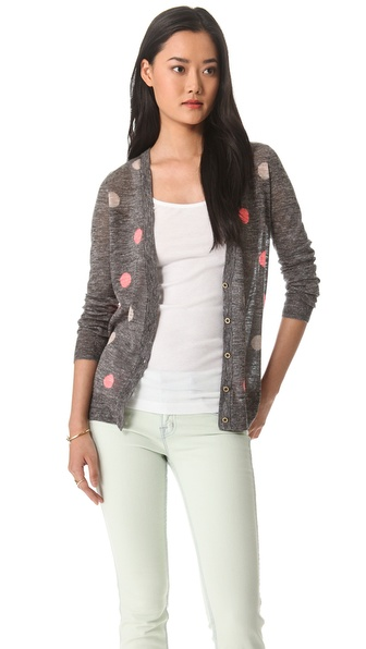 Madewell Double Dot Cardigan