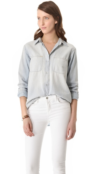 Madewell Chambray Ex Boyfriend Shirt