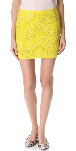 Madewell Violette Lace Skirt