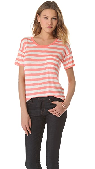 Madewell Bookmark Striped Tee