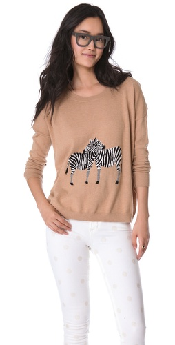 Madewell Zebra Love Pullover