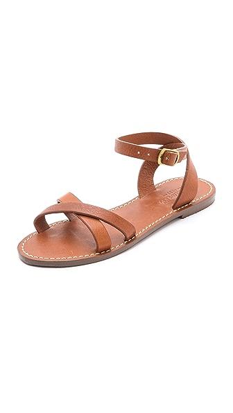 Madewell Crisscross Boardwalk Sandals