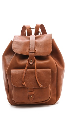Madewell Leather Rucksack at Shopbop.com