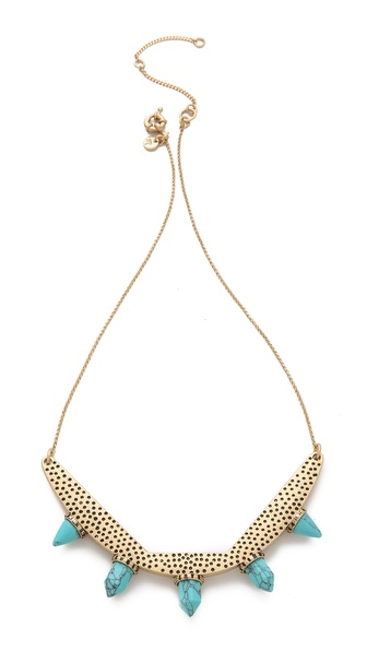 Madewell Stampdot Statement Necklace