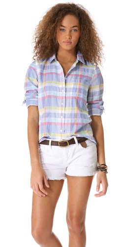 Madewell Plaid Eden Shirt