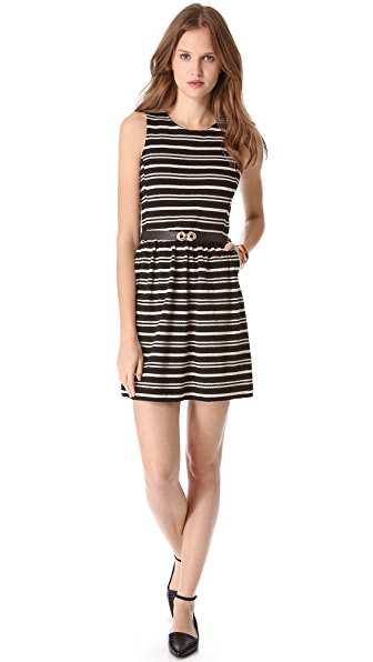 Madewell Striped Telephone Dress