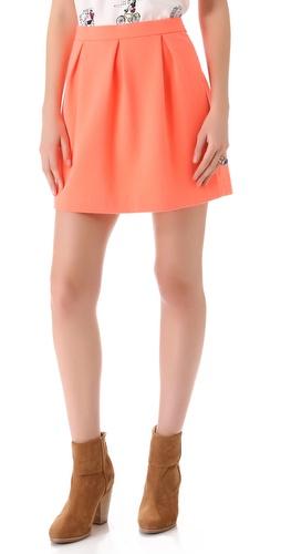 Madewell Solid Ridge Skirt