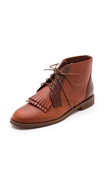 Madewell Aberdeen Two Tone Boots
