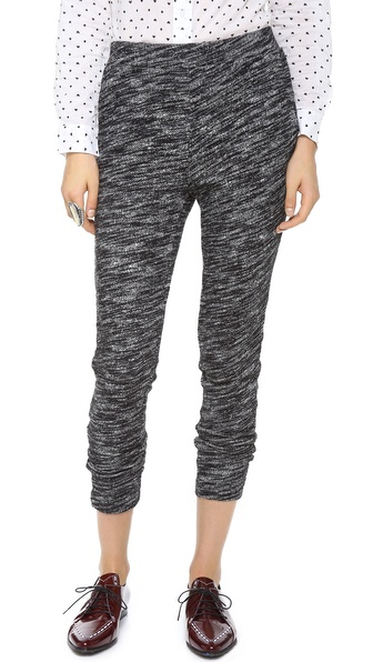 Madewell Marled Slouch Sweatpants