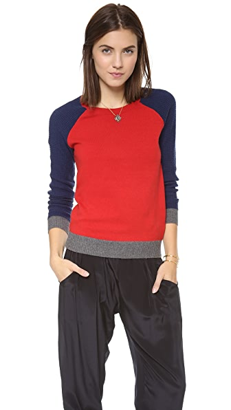 Madewell Dorian Colorblock Pullover