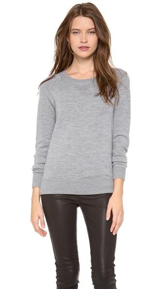 Madewell Solid Ricky Sweatshirt Pullover