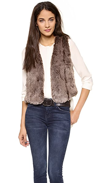 Madewell Faux Fur Vest