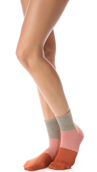 Madewell Colorblock Ankle Socks
