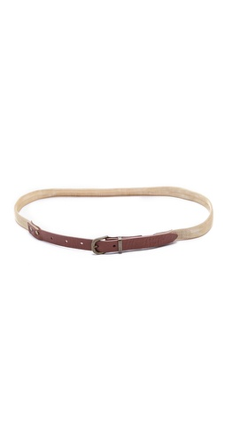 Madewell Woven Metal Belt at Shopbop / East Dane