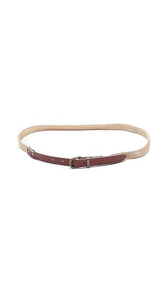 Madewell Woven Metal Belt