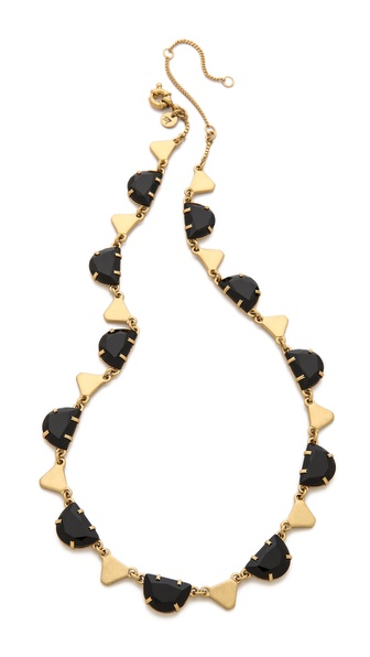 Madewell Crystal Statement Necklace
