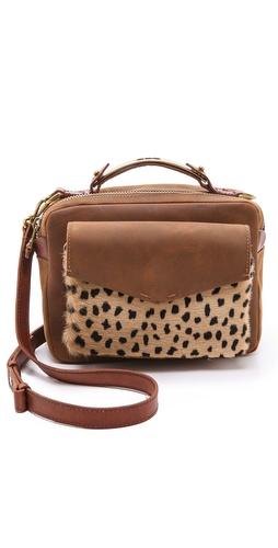 Madewell Eaton Shoulder Bag in Printed Haircalf at Shopbop / East Dane