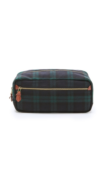 Madewell Plaid Toiletries Bag