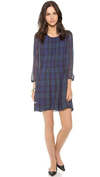 Madewell Seneca Shirred Dress