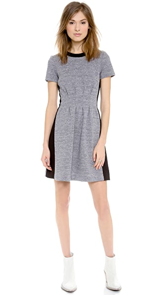 Madewell Parkline Dress in Colorblock