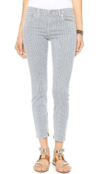 Madewell Skinny Skinny Zip Jeans