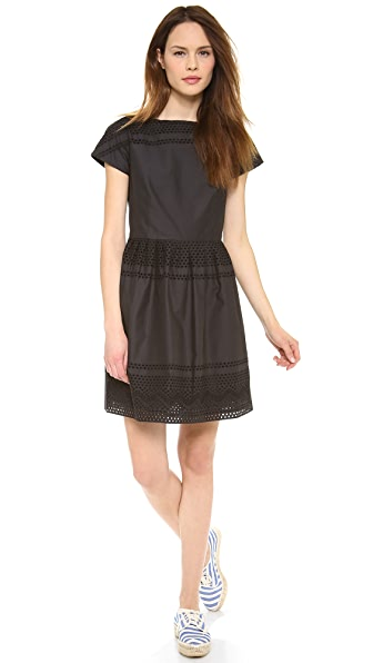 Madewell Latticework Dress