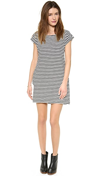 Madewell Zipline Mini Dress