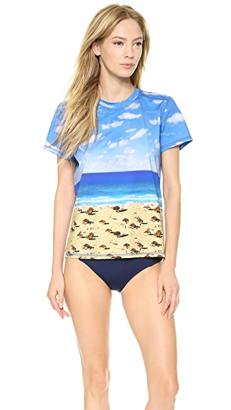 Madewell Short Sleeve Rash Guard