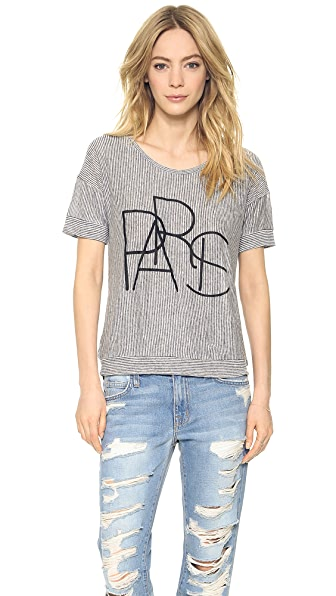 Madewell Paris Banded Tee
