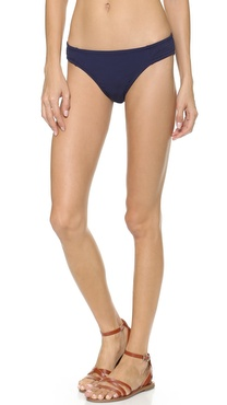 Madewell Embroidered Hipster Bikini Bottoms