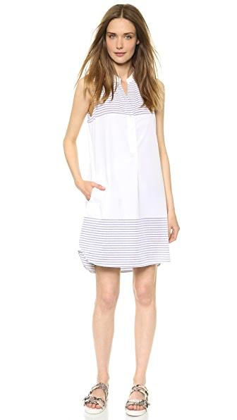 Madewell Sleeveless Shirtdress