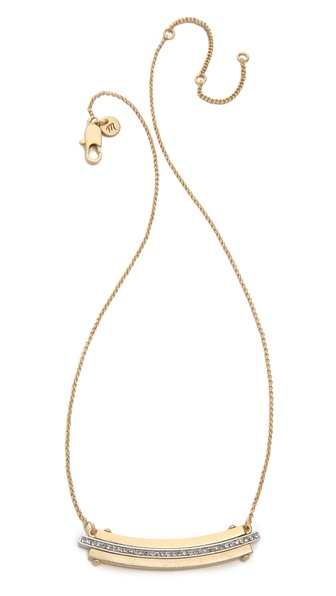 Madewell Short Fine Jewelry Collar Necklace